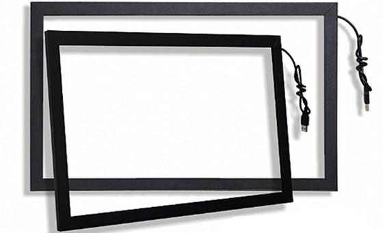 【三益触控】红外触摸屏系列玻璃安装视频教
